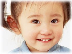 お子さんのさわやかな笑顔